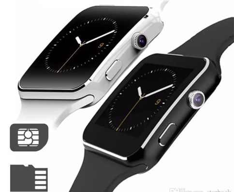 smartwatch wit en zwart